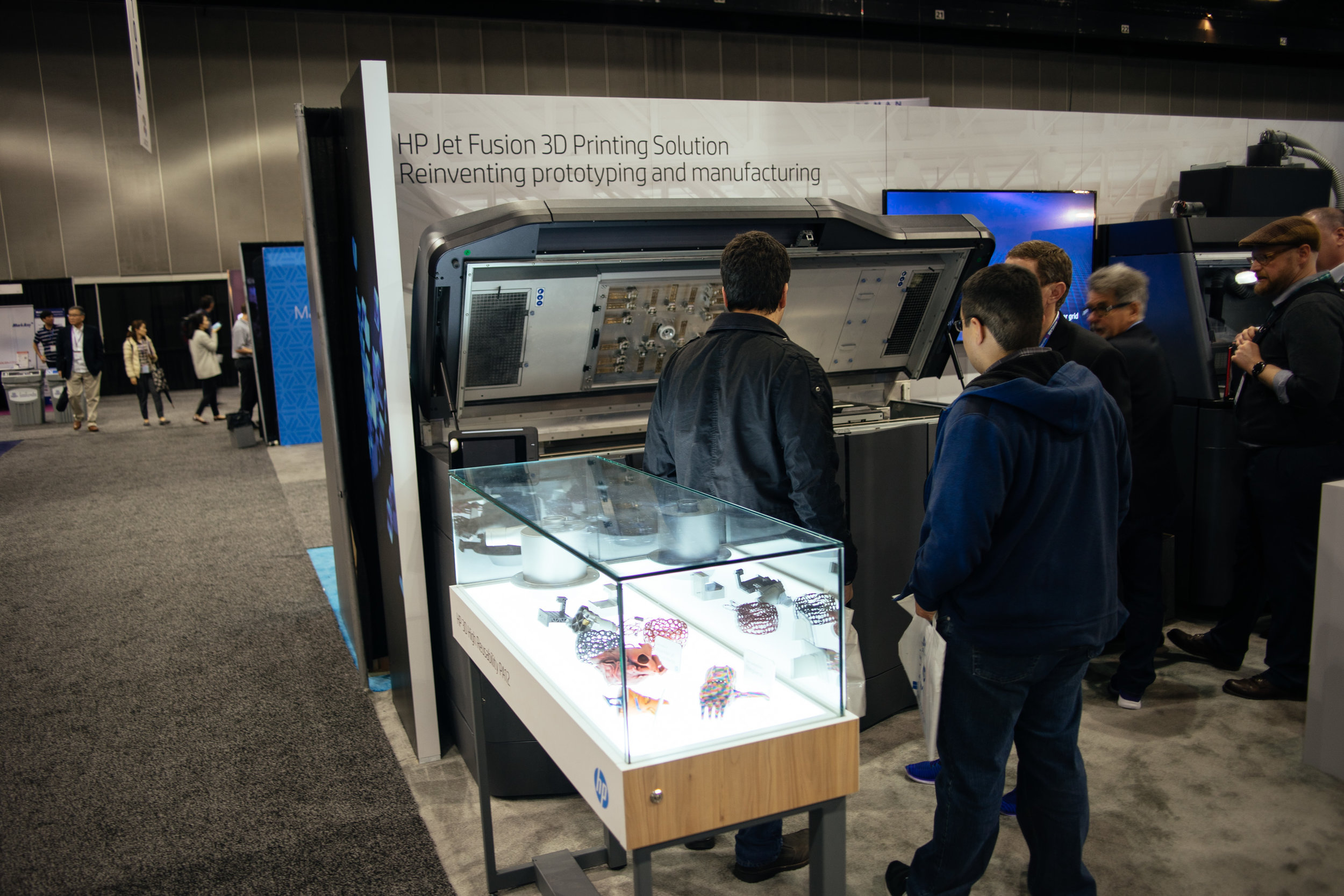 Finally got to see one of these HP 3D printers in person.We  really  want one of these in house.