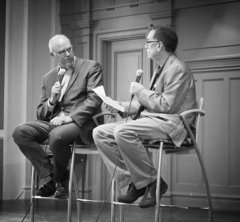 Ross Reynolds speaking with the former head of NPR news about the future of radio.