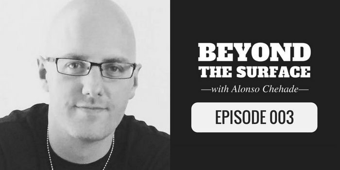 keegan hall on the beyond the surface podcast
