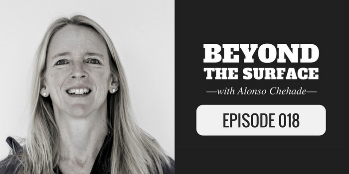 Beth Whitman on Beyond the Surface Podcast