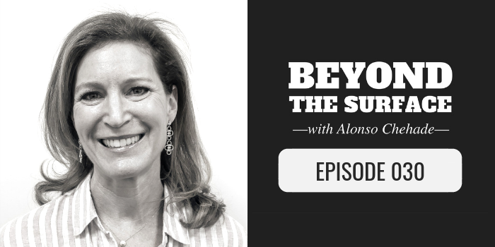 Debbie Rosemont on beyond the surface podcast