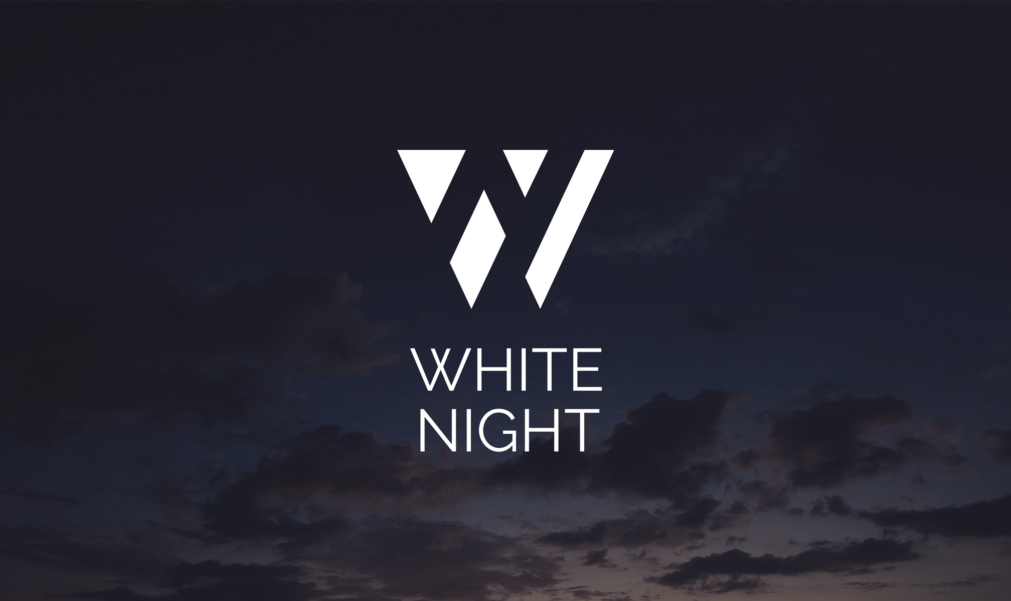 White Night is an after-hours festival. The identity is inspired by the oxymoron inherent in the brand name. The design won a Bronze at the Best Awards. Created with Salted Herring.