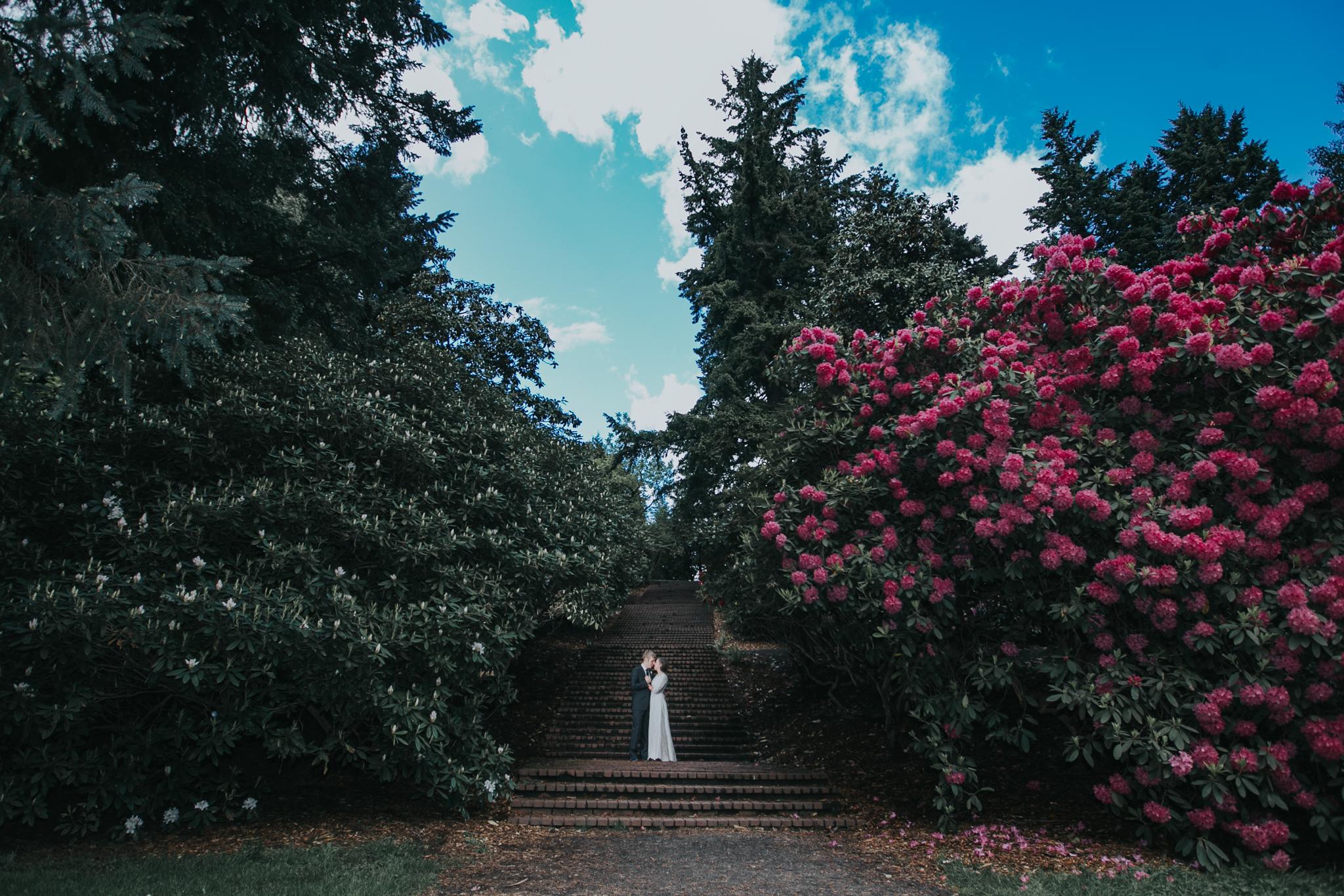 Portland Oregon Outdoor Garden Wedding | Kai Hayashi Photography