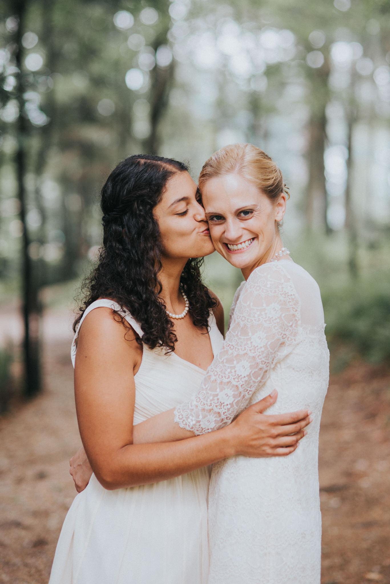 Massachusetts Outdoor Camp Gay Wedding Photography | Kai Hayashi Photography