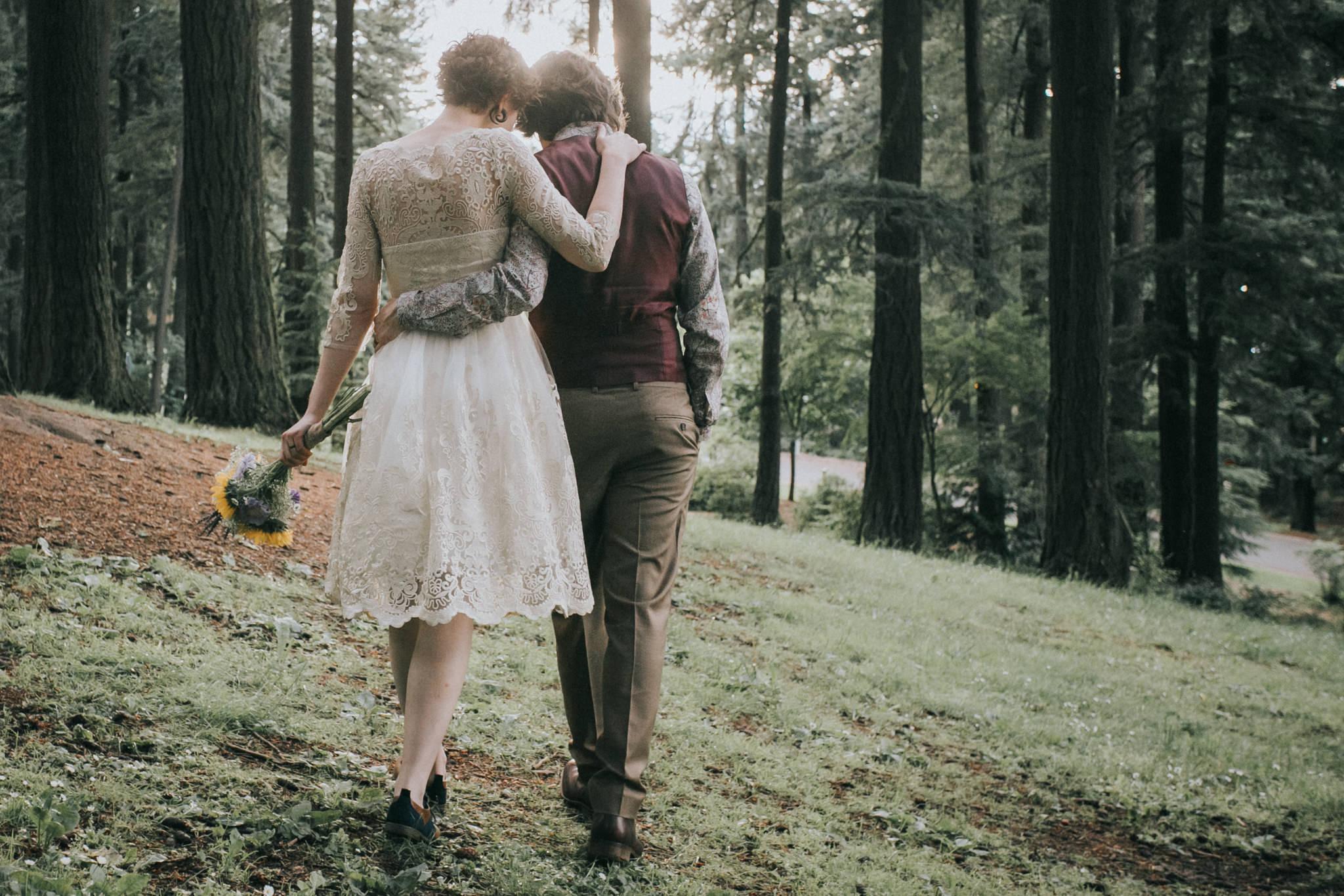 Mt. Tabor Portland Oregon Wedding Photography | Kai Hayashi Photography