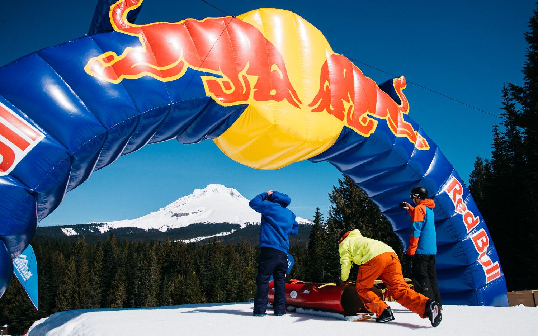 Red Bull Schlittentag -
