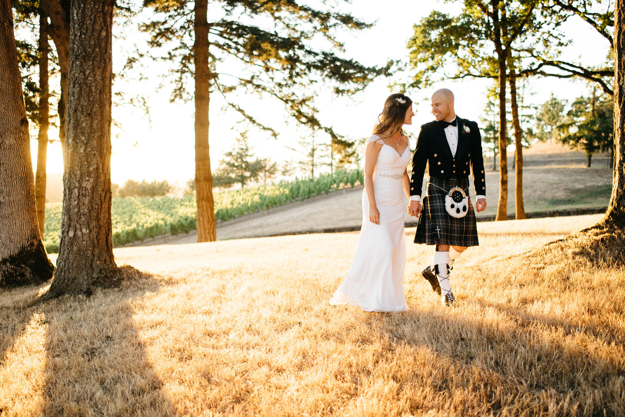 Oregon Wine Country Outdoor Wedding | Kai Hayashi Photography
