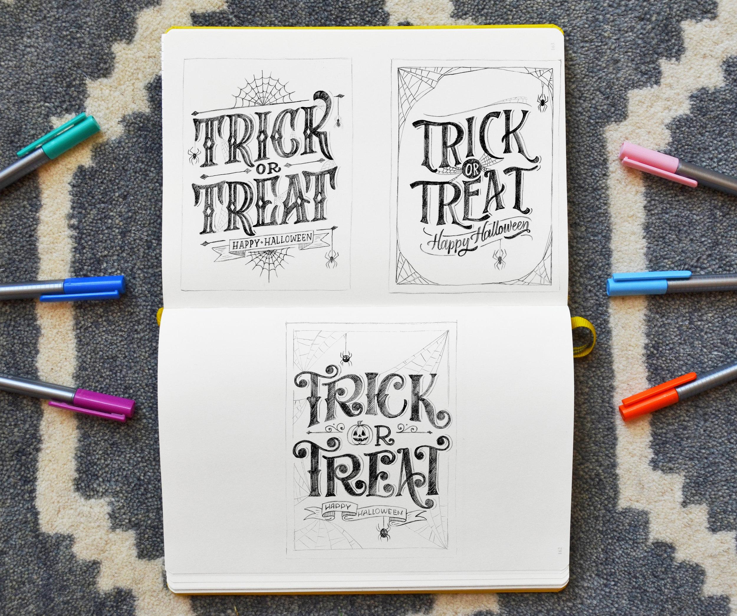 TrickOrTreat_Sketches .jpg