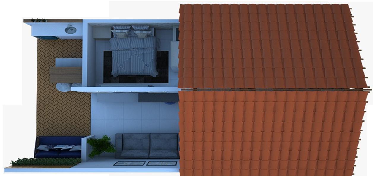 Solução Casa Cerâmica - Modelo vai facilitar a interpretação dos modelos construtivos diretamente na exposição