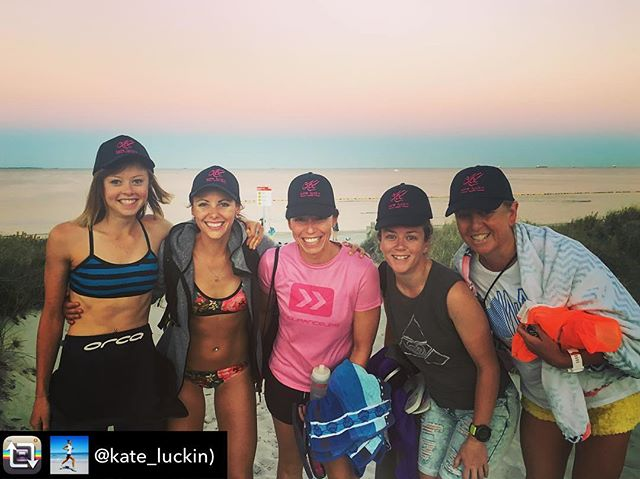 Repost from @kate_luckin I couldn't think of a better way to start the weekend (even though it's Friday!) I am so lucky to have this amazing @klphysiohealthfitness crew who I can share this crazy triathlon journey with!  #triathlon #sharkbaithoohaha #womenfortri #womeninsport #happy #active #healthy #triathletes #openwater #swimming #ironman #raceweek #perth #wa @bruss77 @karyssashleighrose @tania_deabreu @jess_capp13