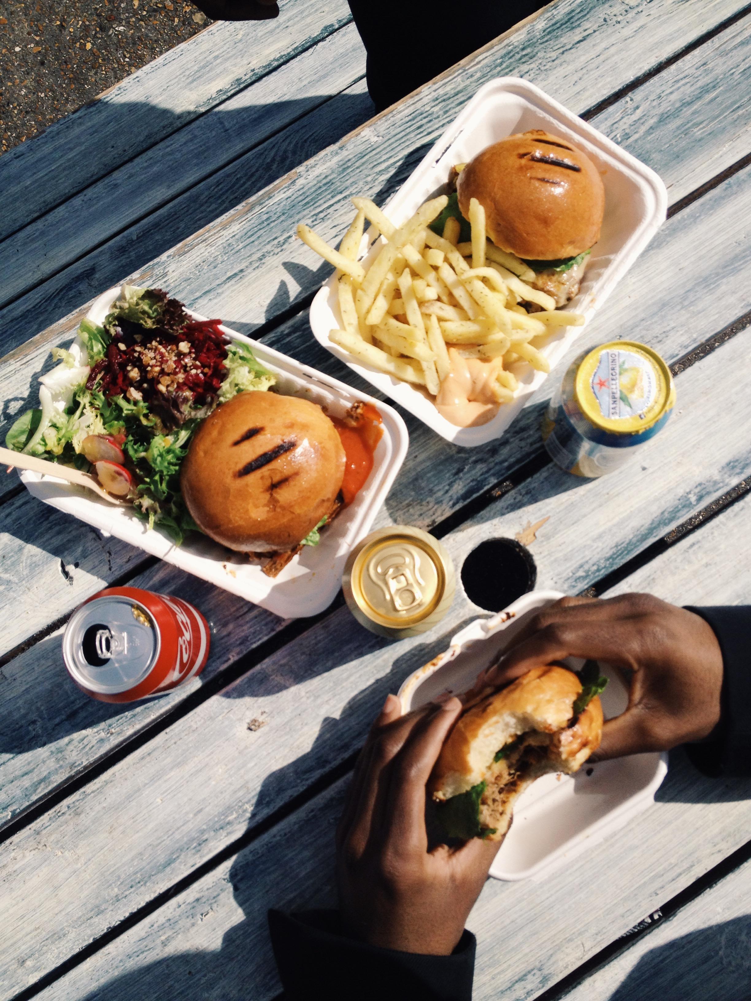 Brick lane burger time