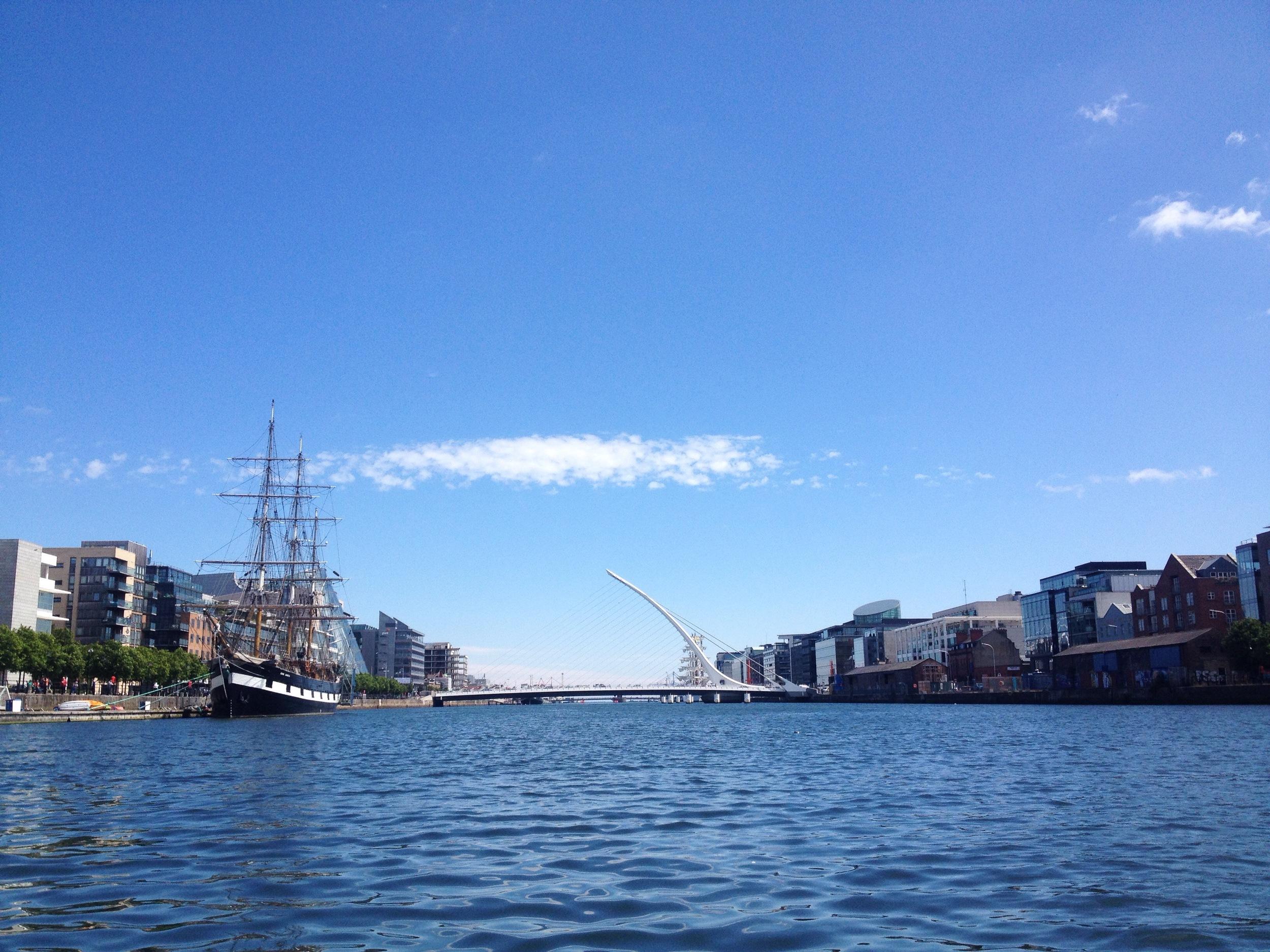 Liffey to Dublin Bay