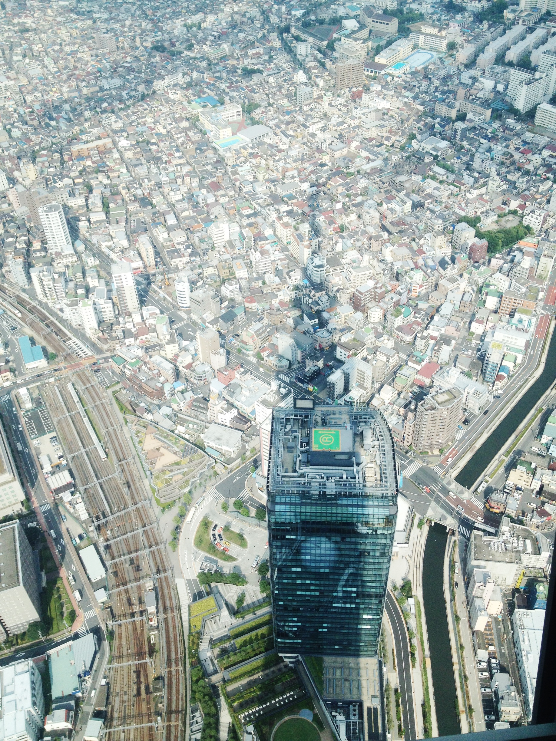 Overlooking from Skytree