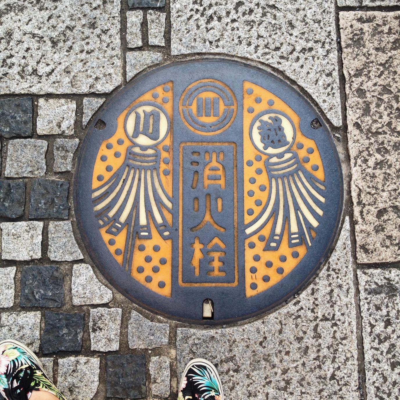 日本人孔蓋真是太美了!