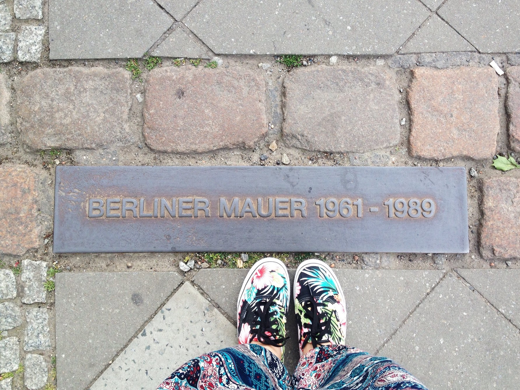 Site of Berlin wall