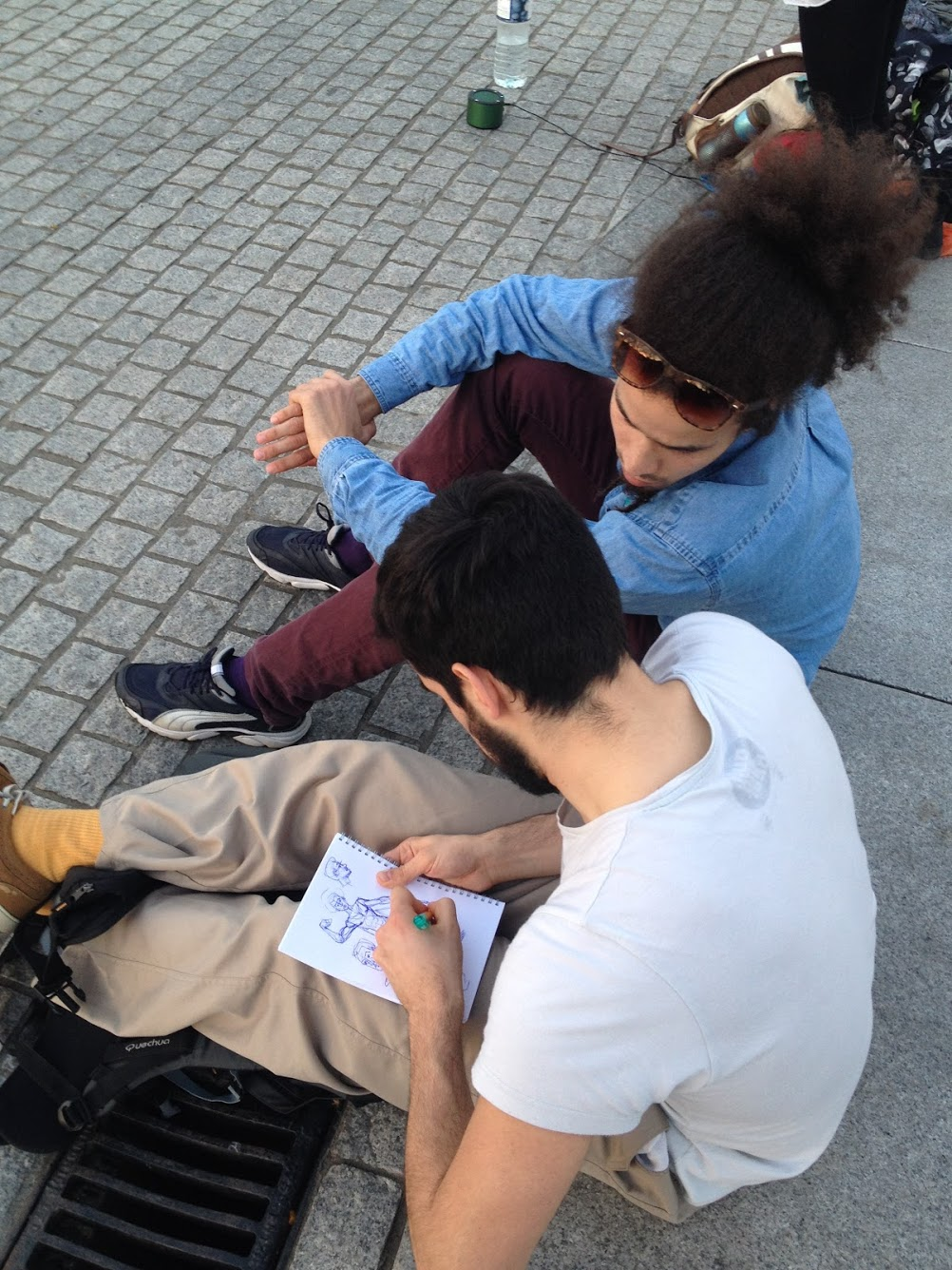 Drawing session as well