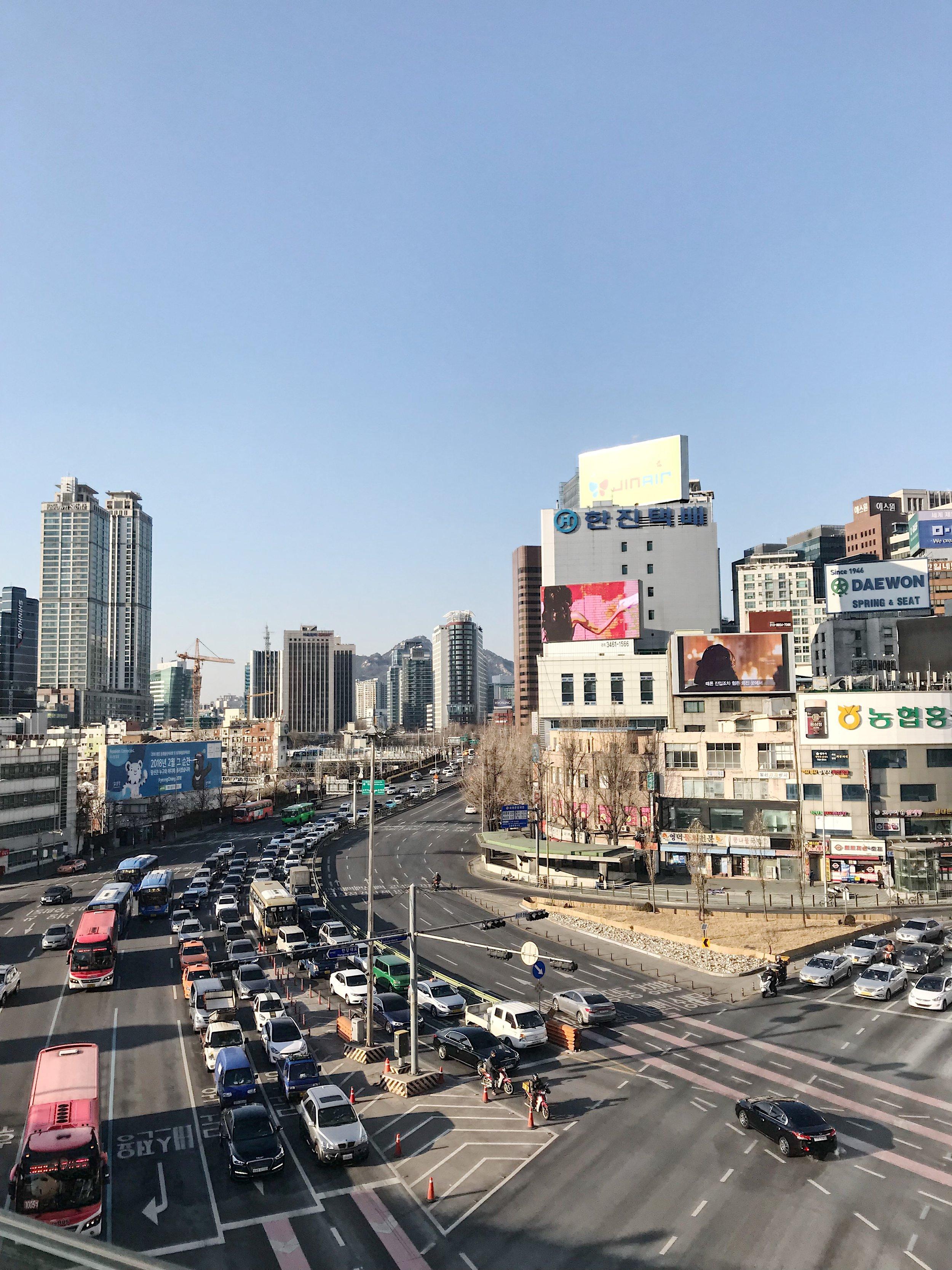 Seoullo 7017 near Seoul Station