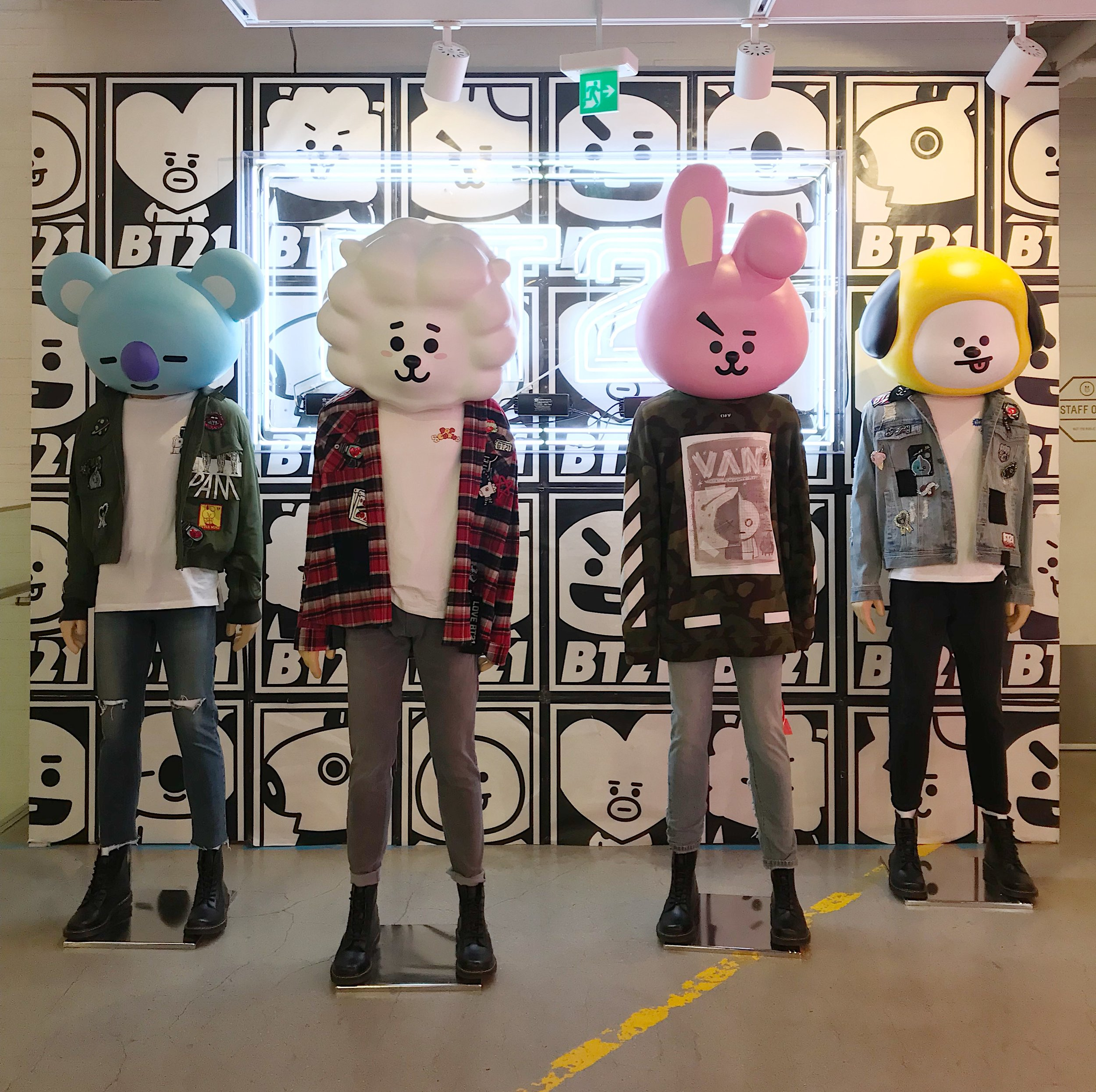 Line store flagship