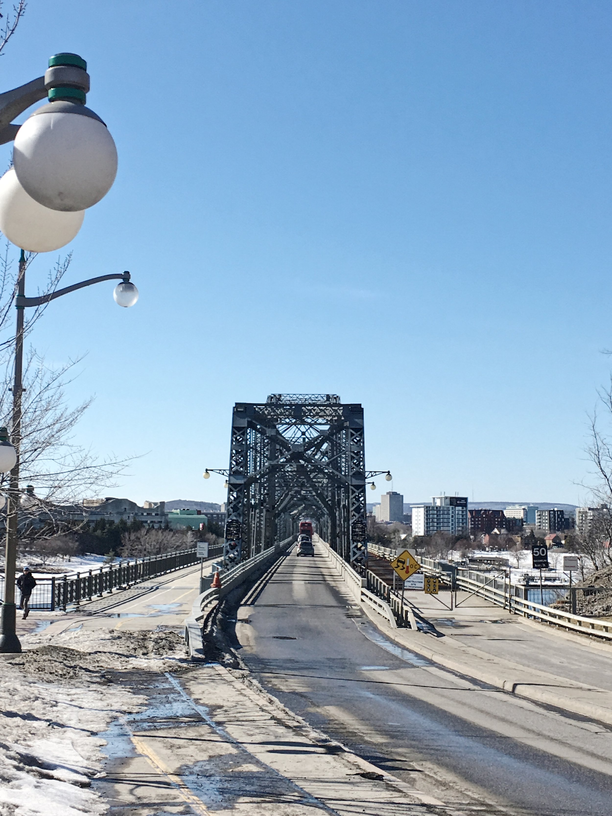 Alexandra Bridge, the other side is Quebec
