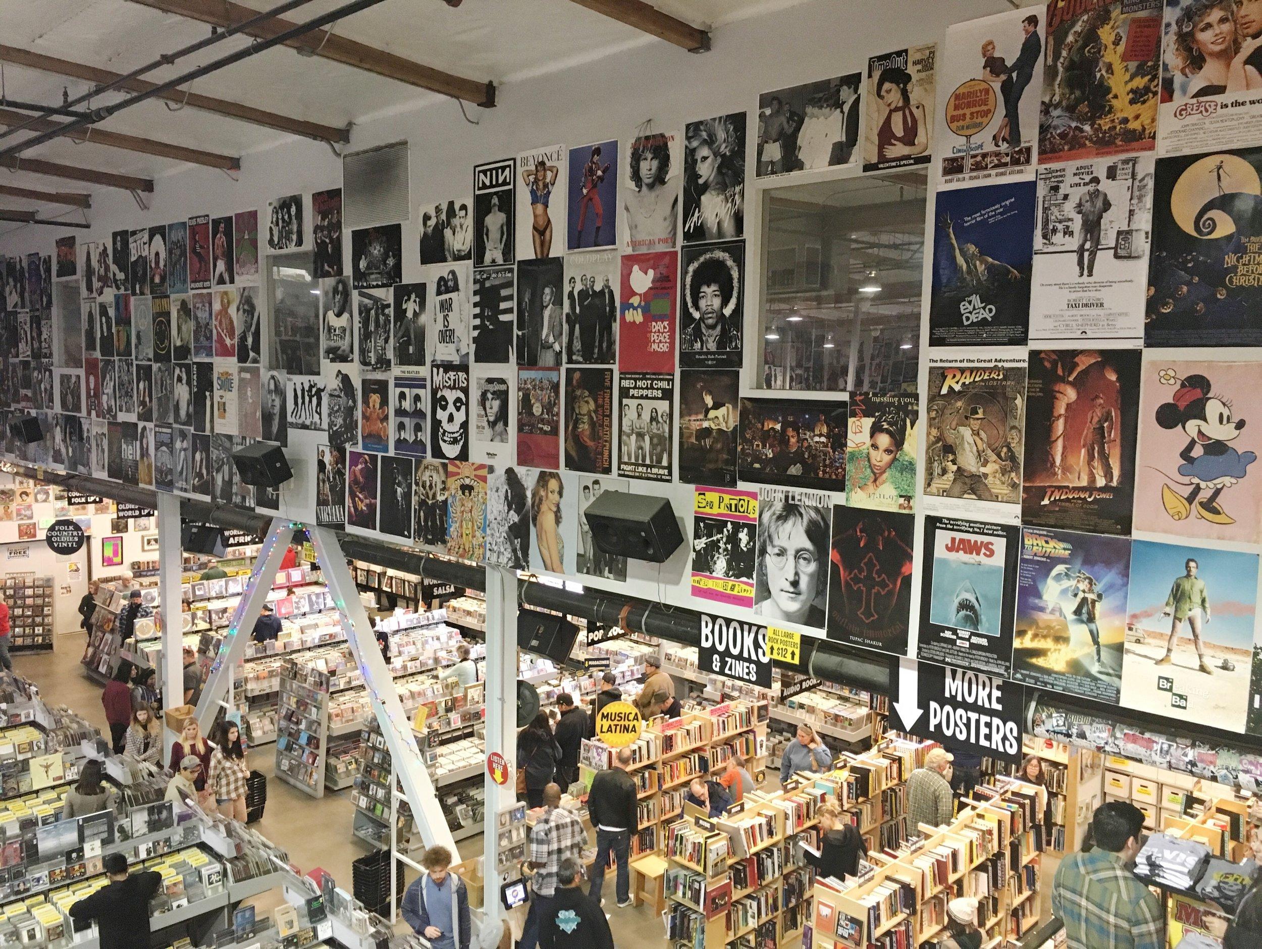 Amoeba record store