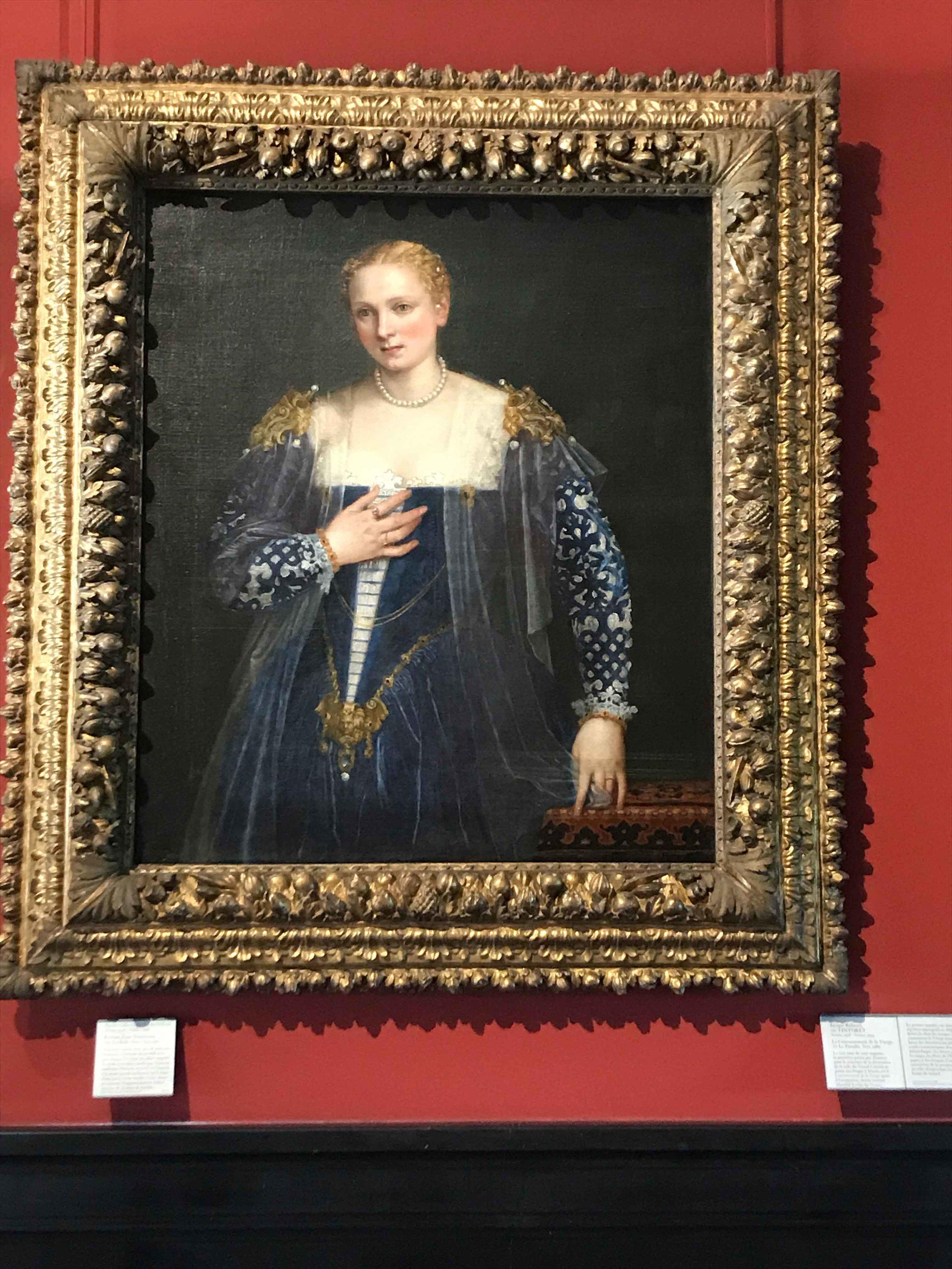 Portrait d'une Jeune Venitienne
