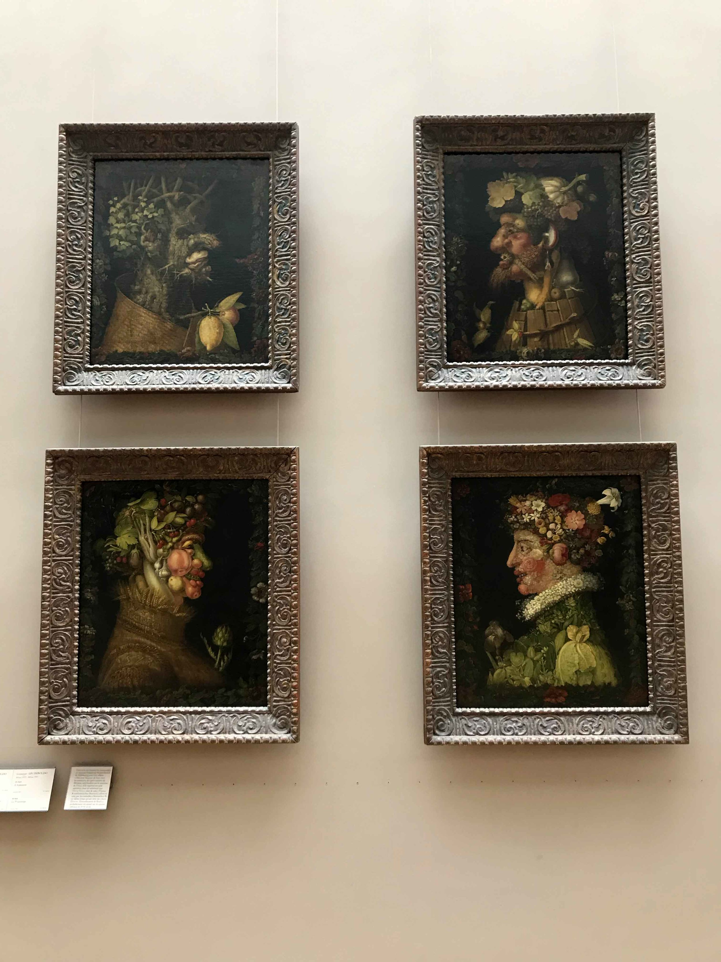 The Four Seasons - Giuseppe Arcimboldo