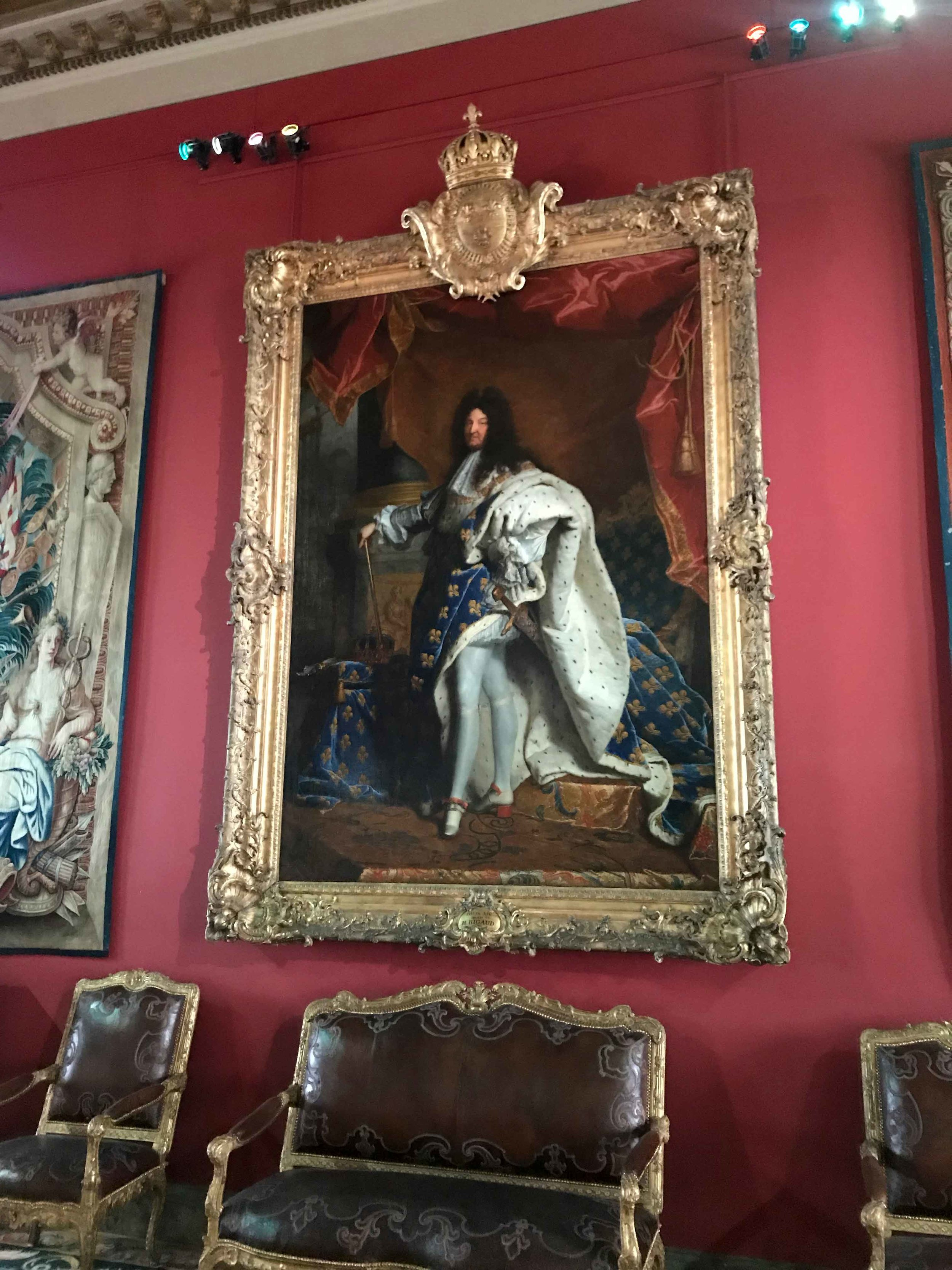 Portrait of Louis XIV - Hyacinthe Rigaud
