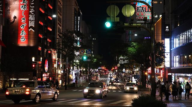 Night series: last time I was there, it was 10 years ago. Fukuoka definitely looks different now and Nakatsu is a must see during the night! I met up with my friend and had a good laugh by the river!