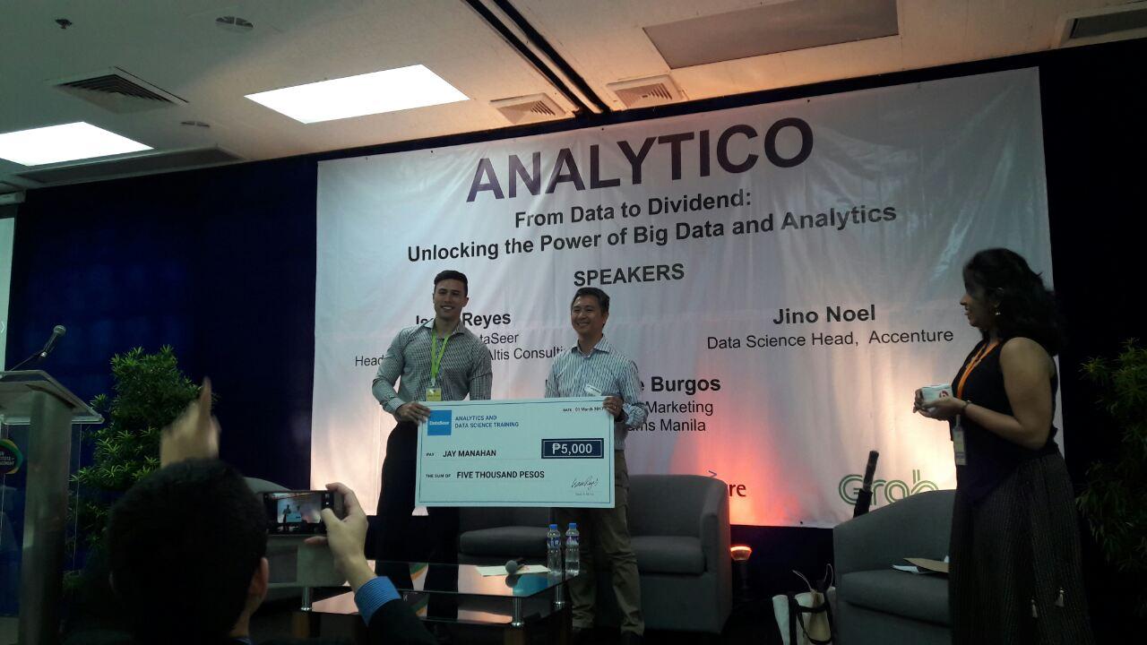 Jay Manahan wins Dataviz Contest