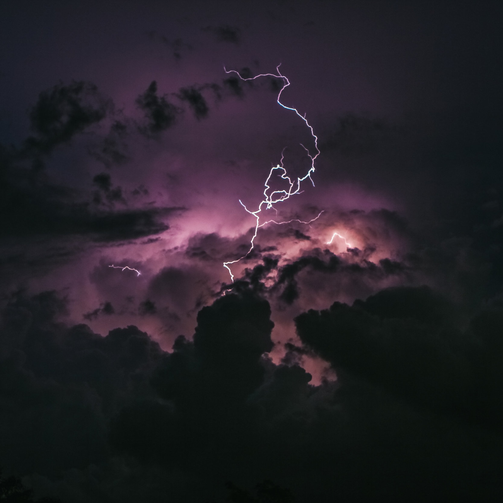Rain with Thunder for Sleep