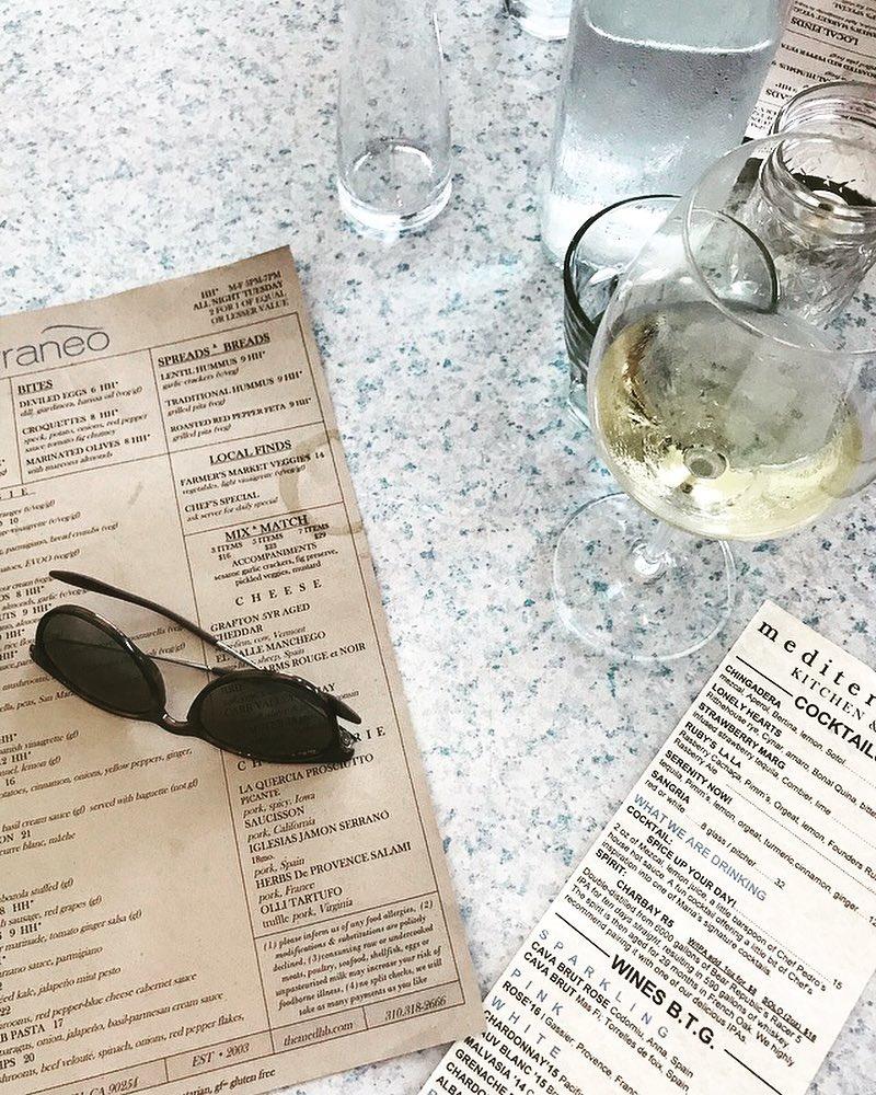 wine fine dining menu