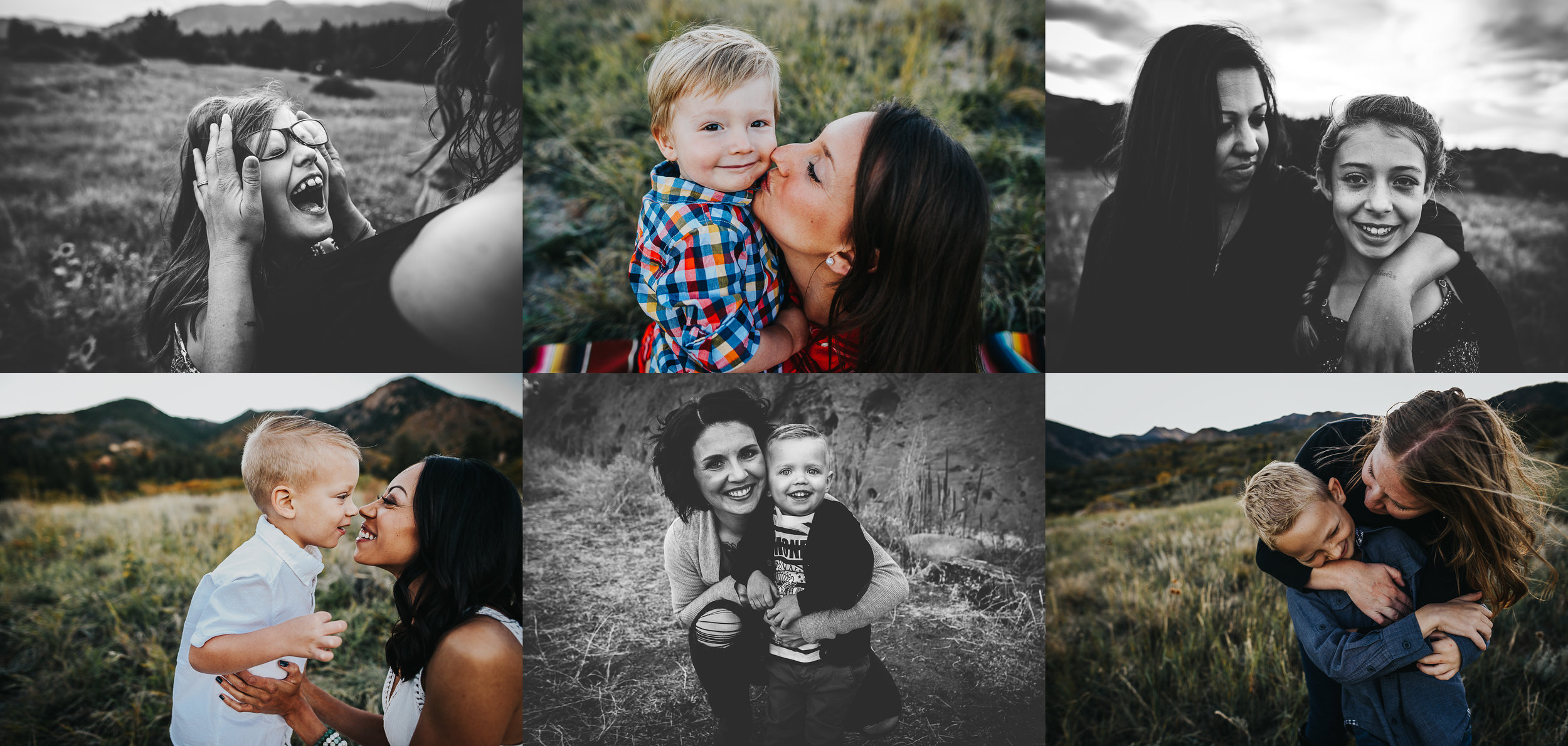 Colorado Springs photographer captures the love and connection between mothers and their children for Mothers Day.