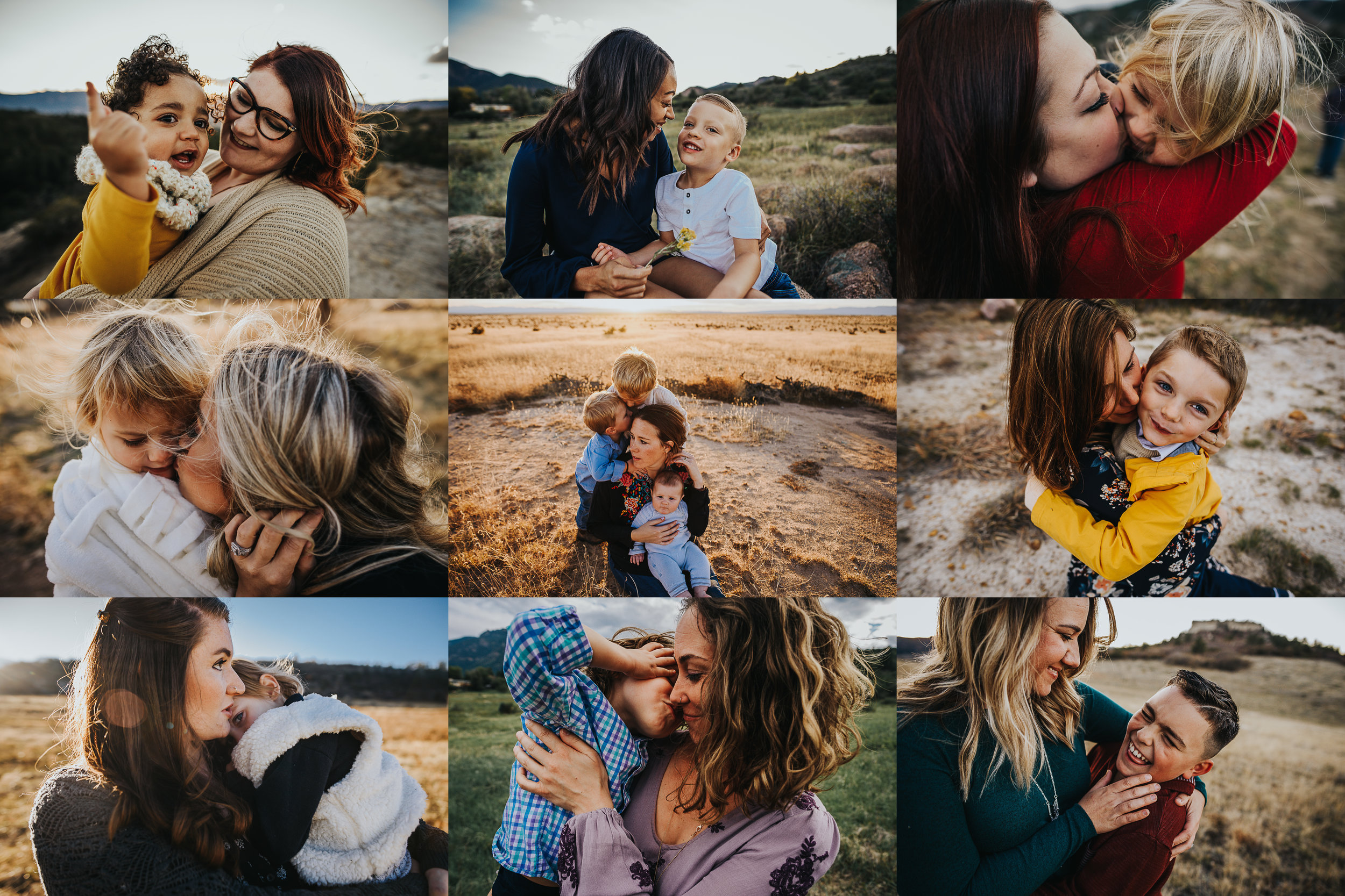 Colorado Family Photography of mothers and their children by Wild Prairie Photography