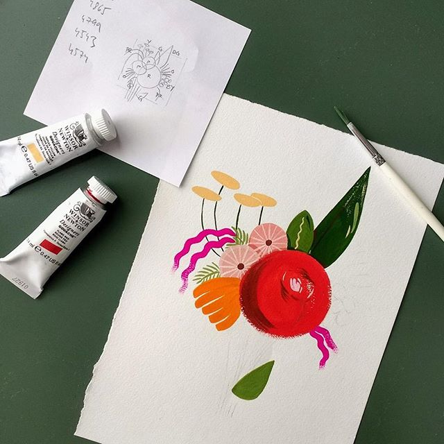 Illustrator, Kate Peebles, will be hosting a Botanicals & Blooms painting workshop this Saturday where you can get to know gouache, the queen of all paints! Head to @kitto_katsu to book a ticket! . . . . . . #workshop #brisbane #brisbaneevents #brisbaneworkshop #brisbanethingstodo #thingstodo #gouache #botanicals #blooms #illustrator