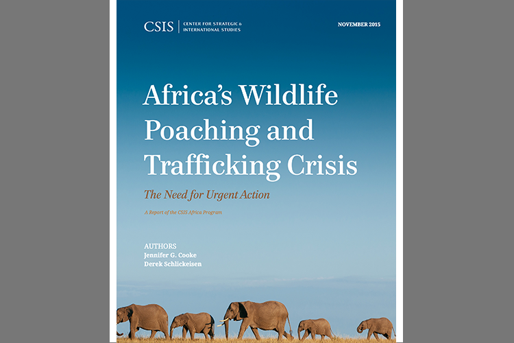 IN JULY 2015, THE CENTER FOR STRATEGIC AND INTERNATIONAL STUDIES HOSTED A CONFERENCE IN WASHINGTON, DC TO DISCUSS POACHING AND SECURITY IN AFRICA. TSAVO CONSERVATION GROUP CO-FOUNDER, IAN SAUNDERS, PRESENTED STABILIZATION THROUGH CONSERVATION (STABILCON) AS A HOLISTIC APPROACH TO INTEGRATED CONSERVATION AND SECURITY CHALLENGES.