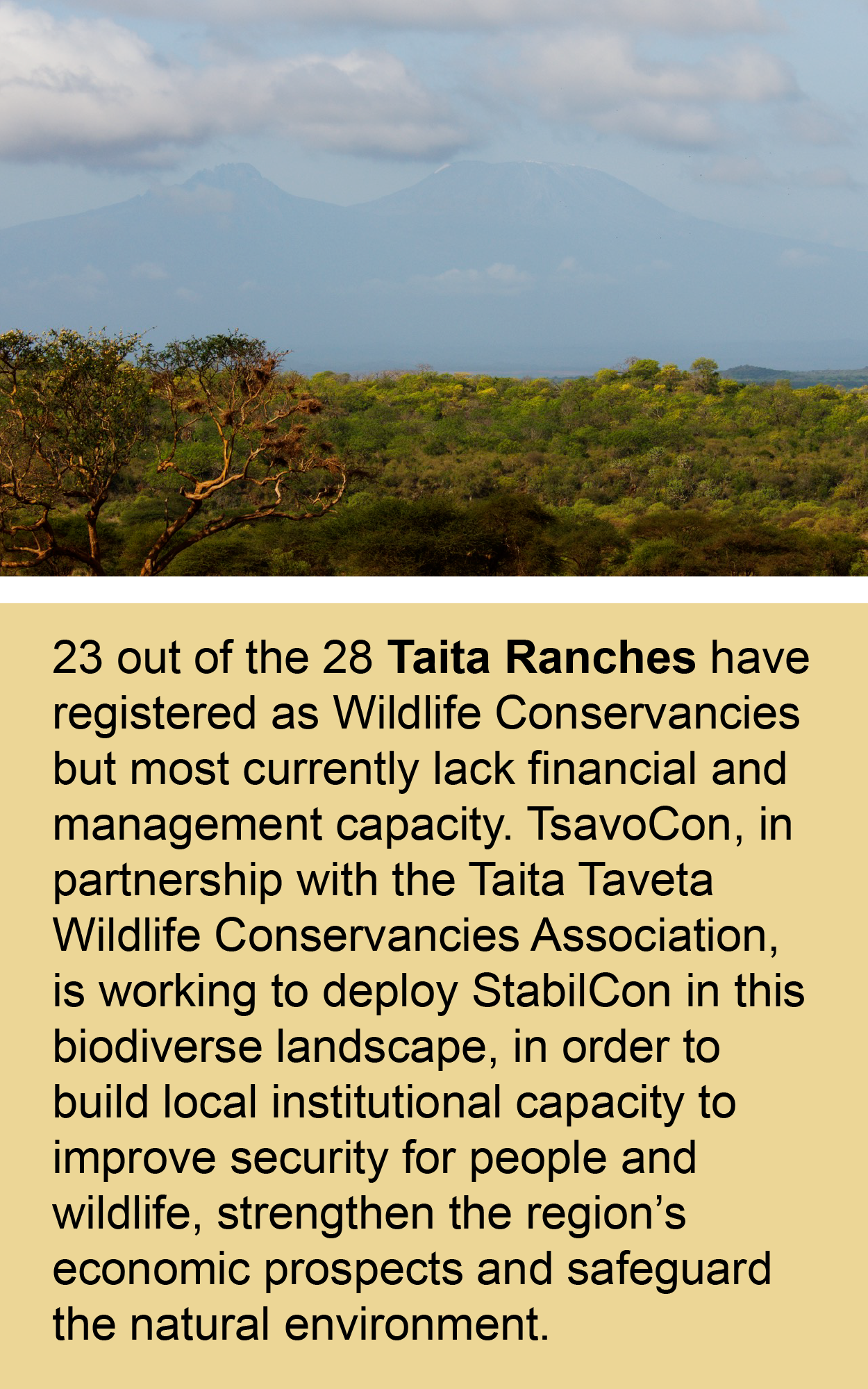 taita ranches tsavocon project