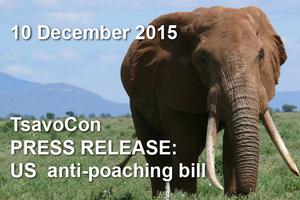 US anti-poaching bill 10 December 2015