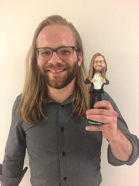 Matt's Bobblehead - Celebrating Defense Day!