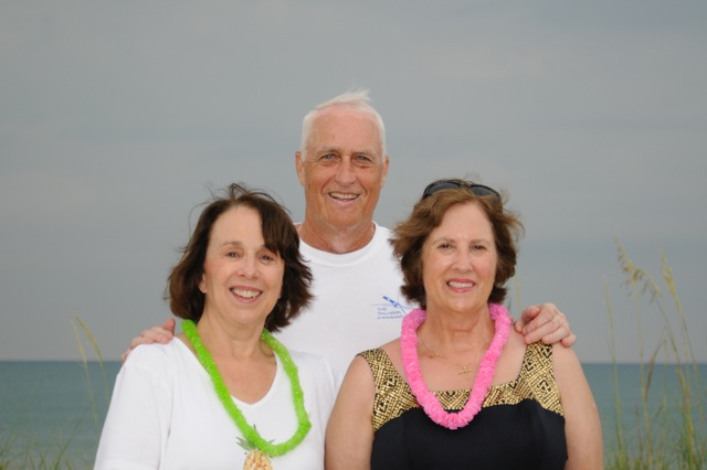 Kathryn, Tom, and Mary in 2010