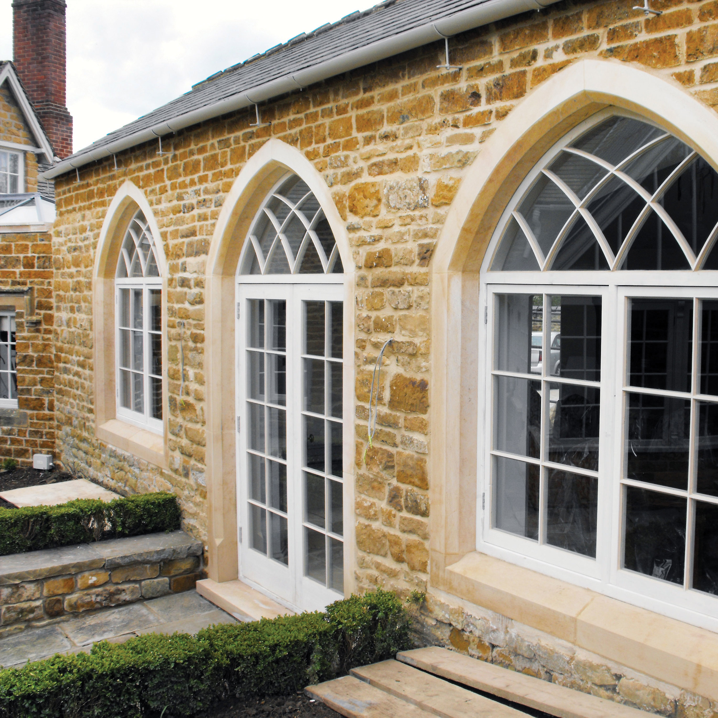 Aster Construction stonework alterations to listed buildings