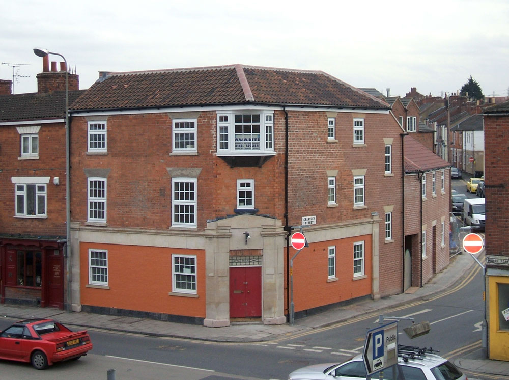 After - Structural alterations and conversion to flats, Grantham