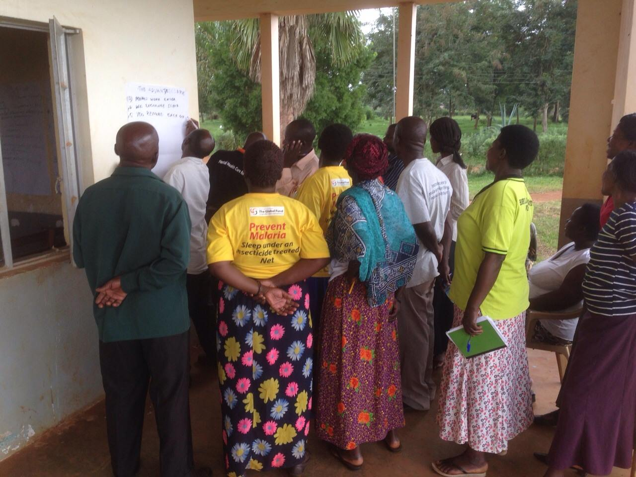 VHT members engage in an evaluation session