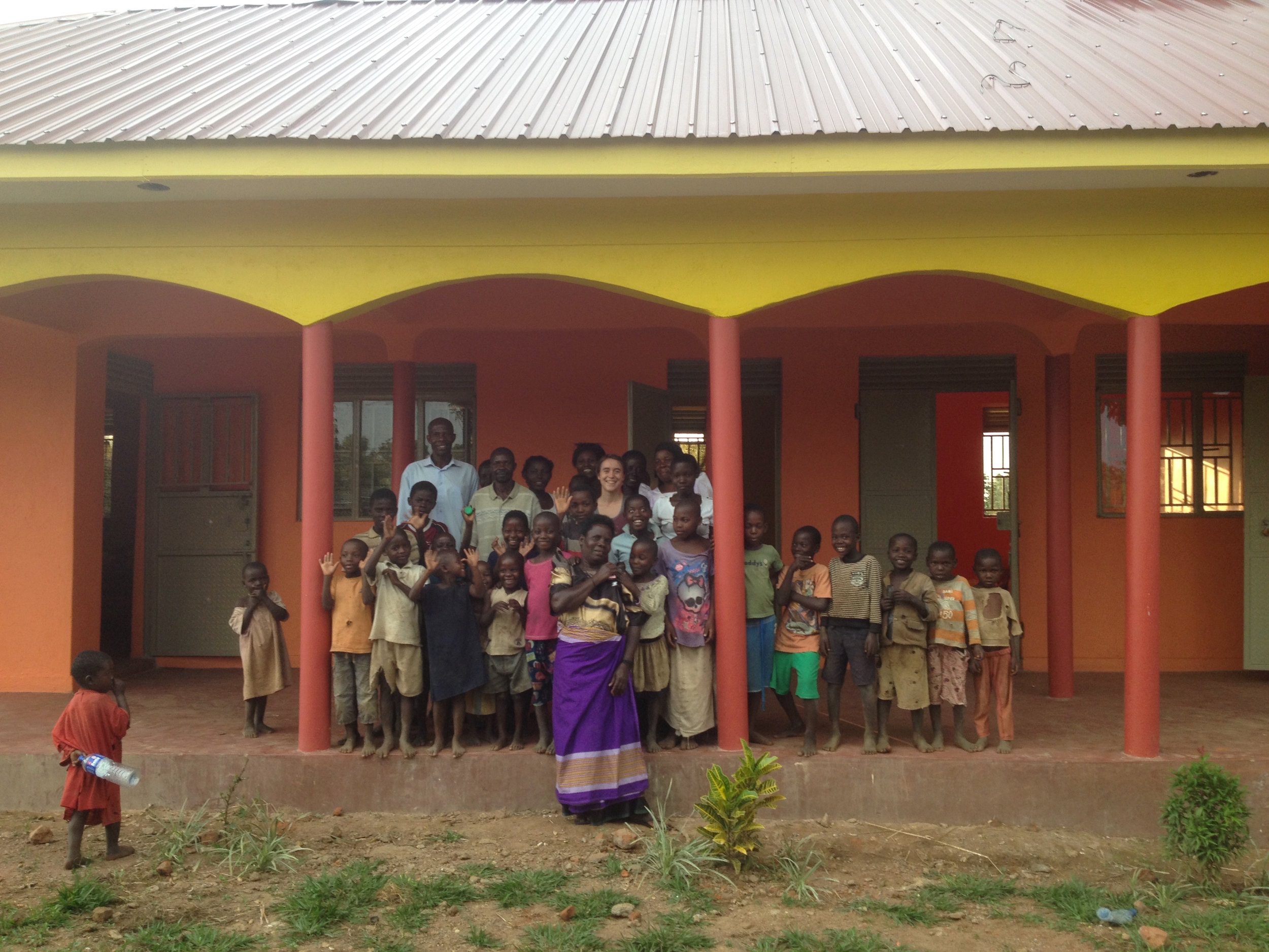 Iganga community members at the fully-operational S.O.U.L. Iganga Community Center