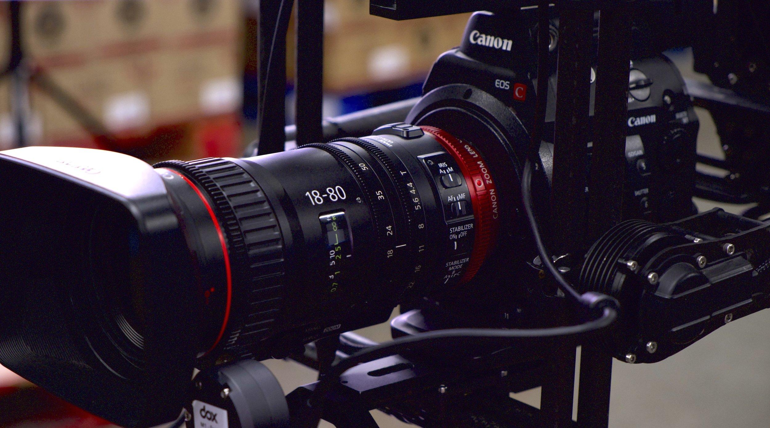 CAMERA STABILIZATION - MoVI + C300 Mark IICanon 18-80mm cine-servo zoomWireless FIZ controlArmor Man 2, Segway miniPRO