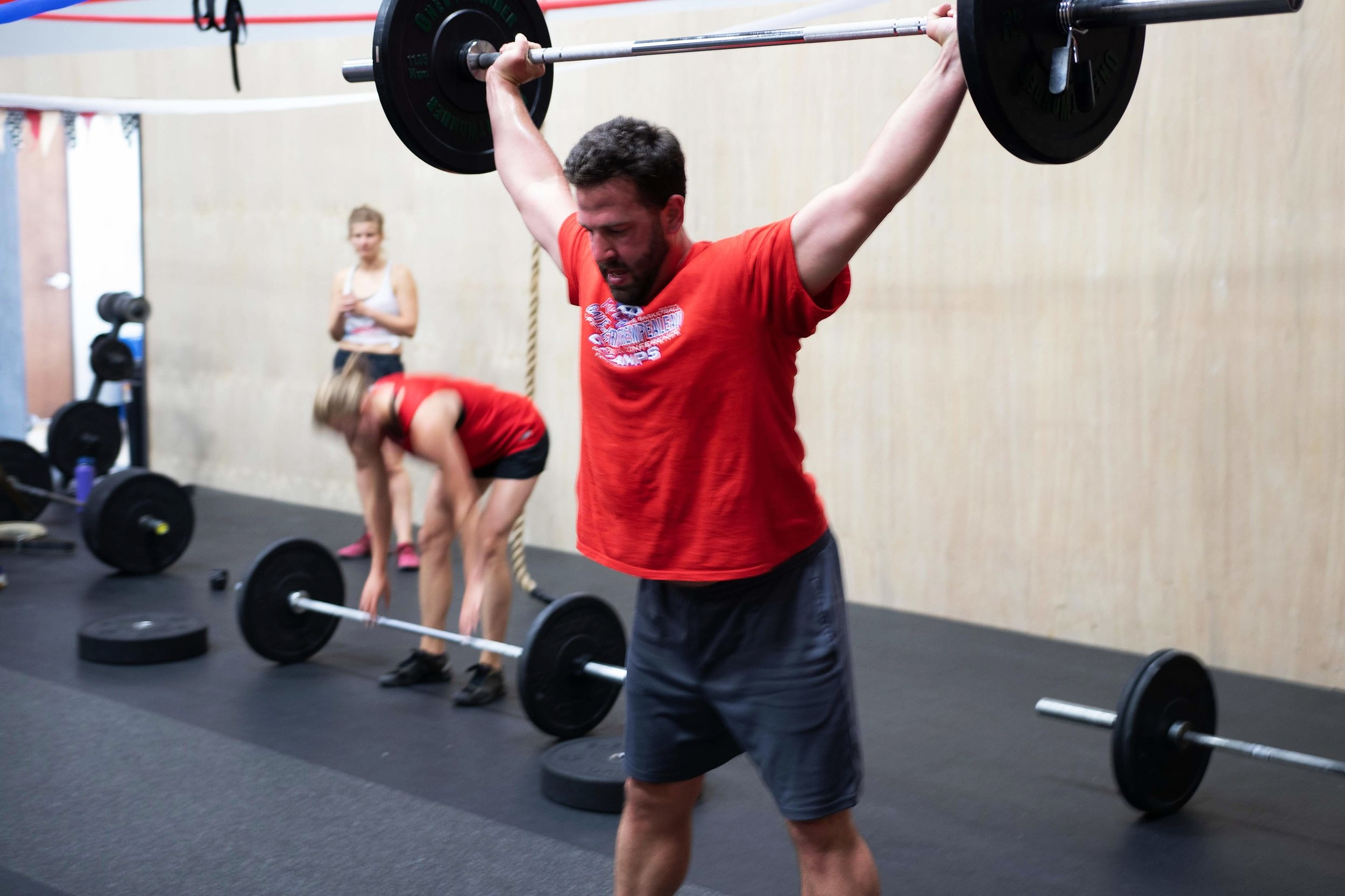Barbell Club - Training focused around the olympic weightlifting movements, the snatch and clean & jerk. Sessions led by USA Weightlifting coach to develop power, strength, and speed. We also prep athletes to compete in weightlifting competitions.