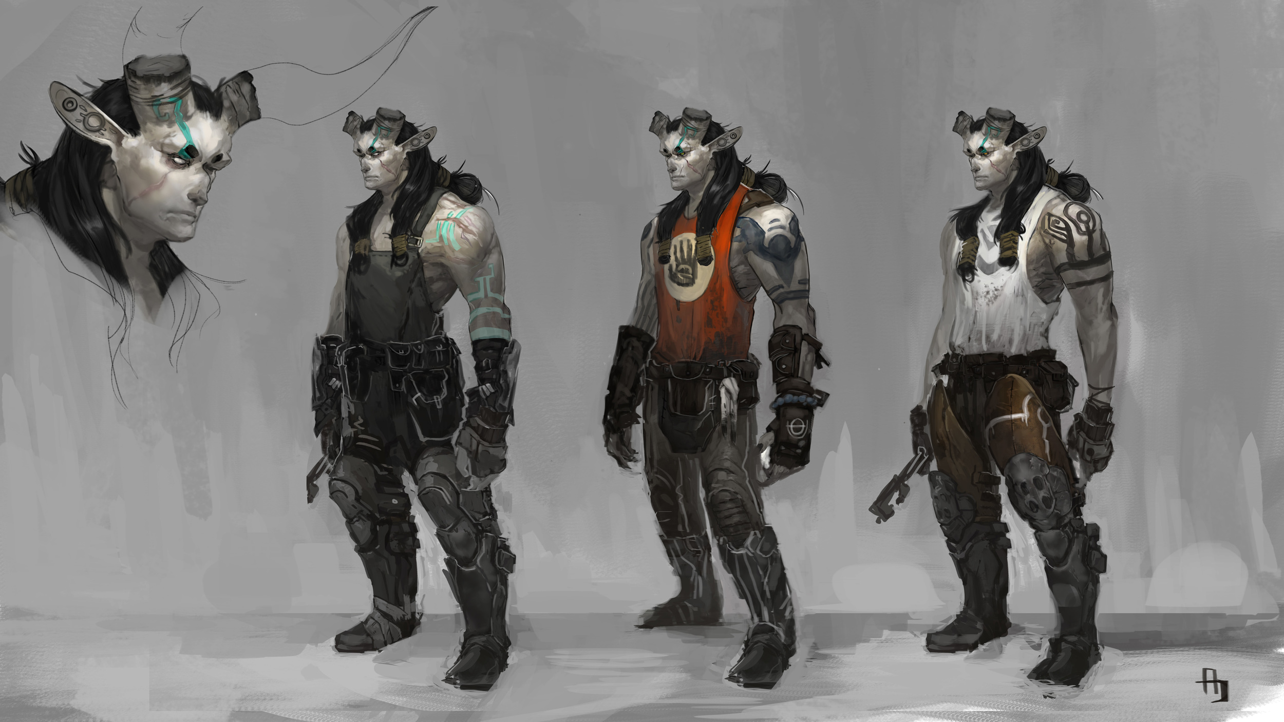Character   Character studies and concepts