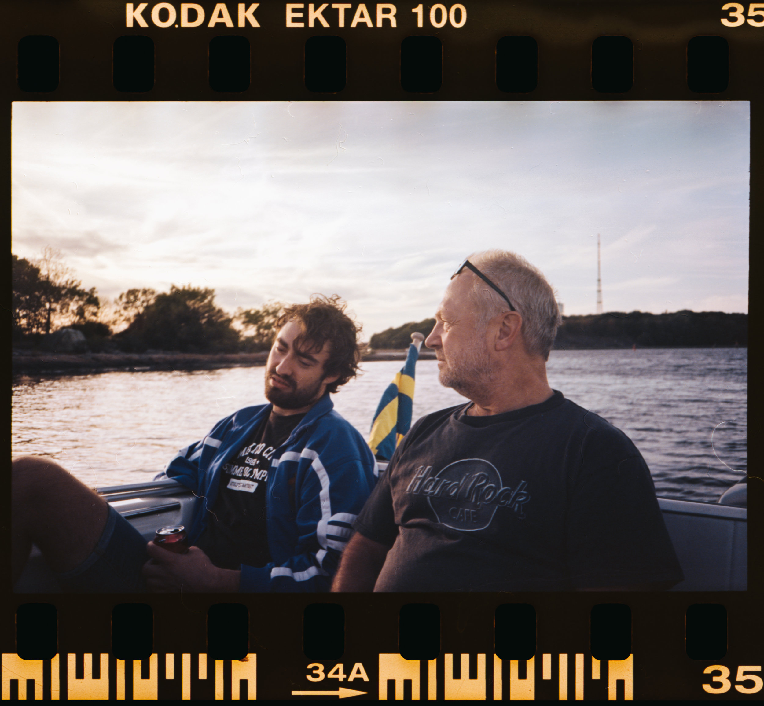 Boating / Kodak Ektar 100 / Olympus Mju I