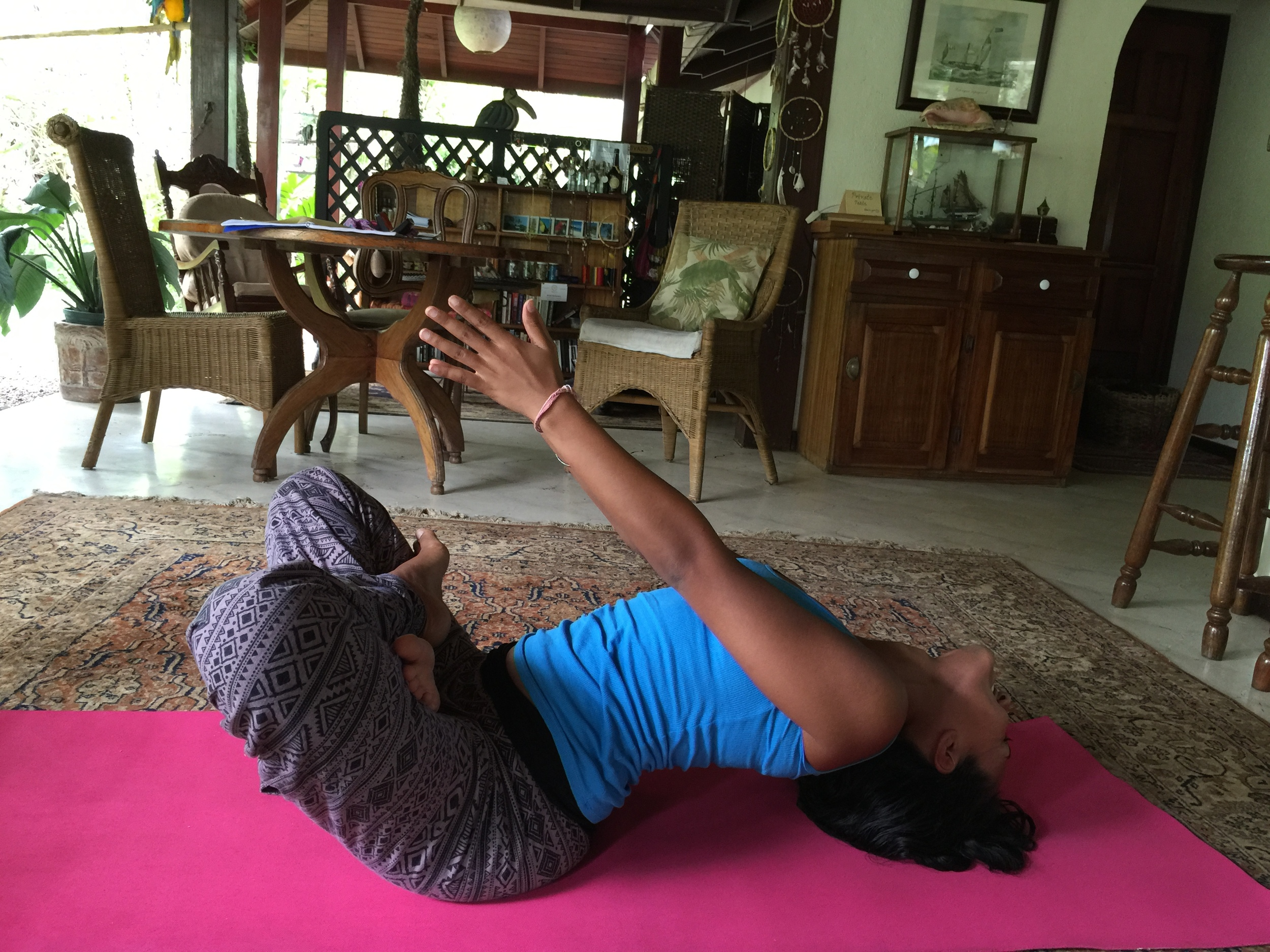 A Beautiful Lifted Seated Backbend by Rajna