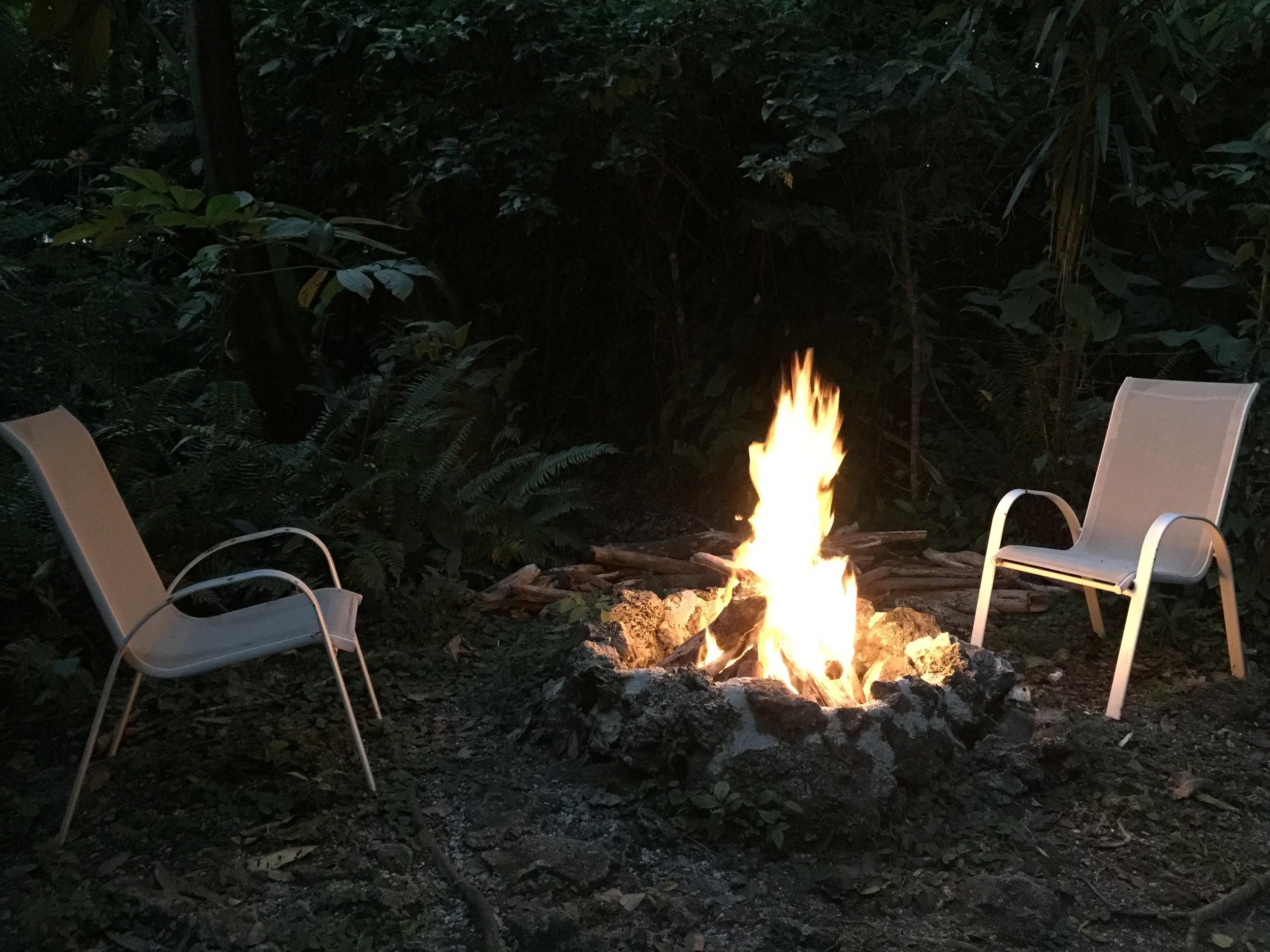 Jungle nights & bonfires
