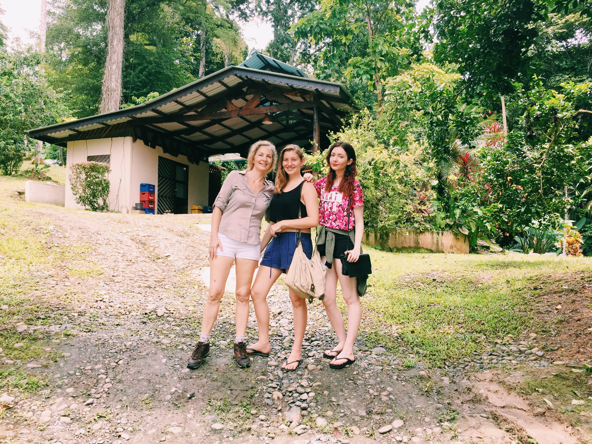 """Myself, Eve & Lexi, the day we found our new home for """"Kindred Spirits"""""""
